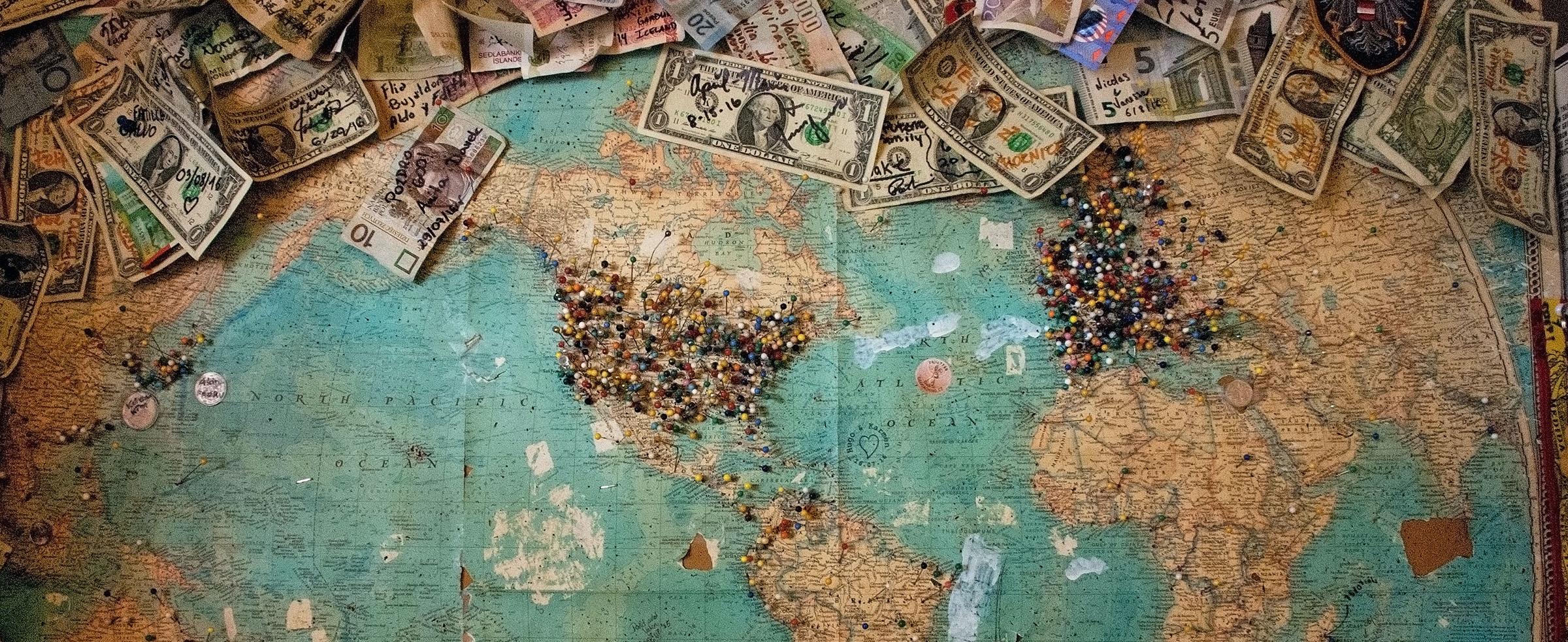 dinero en el mundo